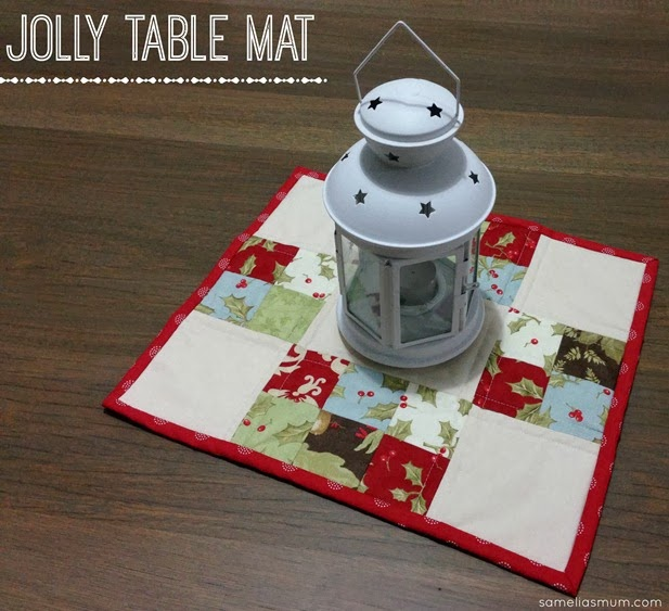 Jolly Table Mat