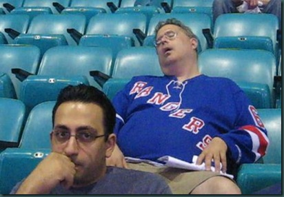 Rangers-Fan-Sleeping