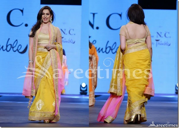 Shaina_NC_Yellow_Saree