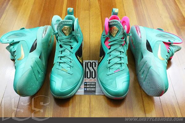 Nike LeBron 9 PS Elite 8220Statue of Liberty8221 PE Has a Twin