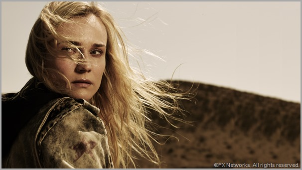 Diane Kruger as Det. Sonya Cross in THE BRIDGE. CLICK to visit the official show site.