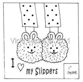I love my slippers