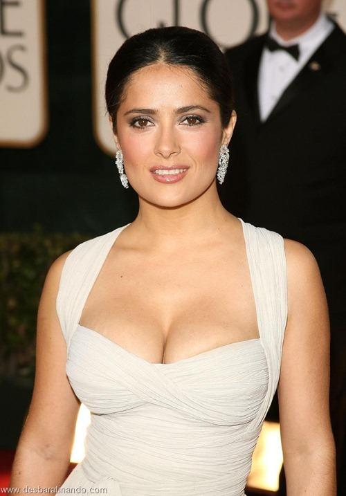 salma hayek linda sensual sexy sedutora gostosa peituda boob tits desbaratinando  (39)