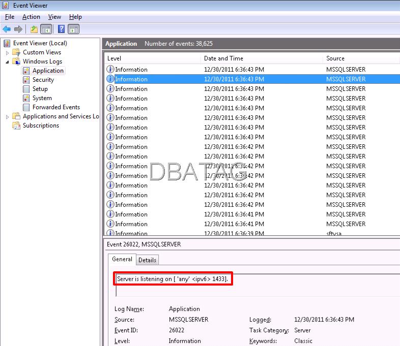 SQL server Error 53   FIX SQL Error