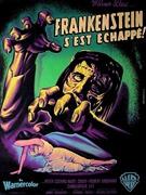 affiche Frankenstein s'est échappé 1957
