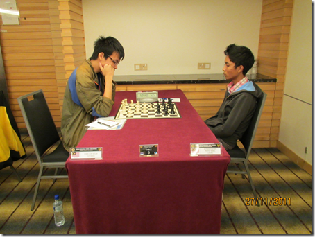 Chek Kin Keuw vs Mohd Nabil Azman Hisham