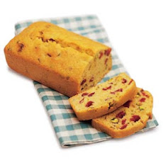 Cranberry Semolina Tea Bread