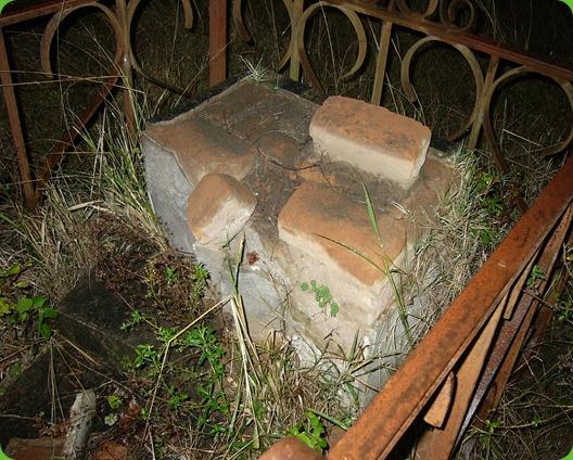 Carsten Langhein, Vandalized Tombstone, Frankfort Eastern Cape 2