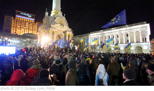 'Protests in Kiev 27 November' photo (c) 2013, Oxlaey.com - license: http://creativecommons.org/licenses/by/2.0/