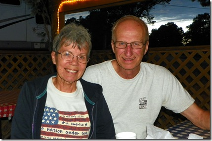 Doreen & Mike from Thousand Oaks, Calif.  (Michigan & Washington)