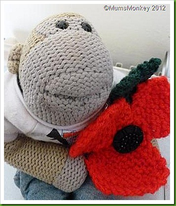 Knitted Poppy 2012