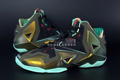 lebron11 king of the jungle 03 web dark LEBRON 11 Breakdown: Yes, its True to Size & Yes, its the Lightest LBJ Sig!