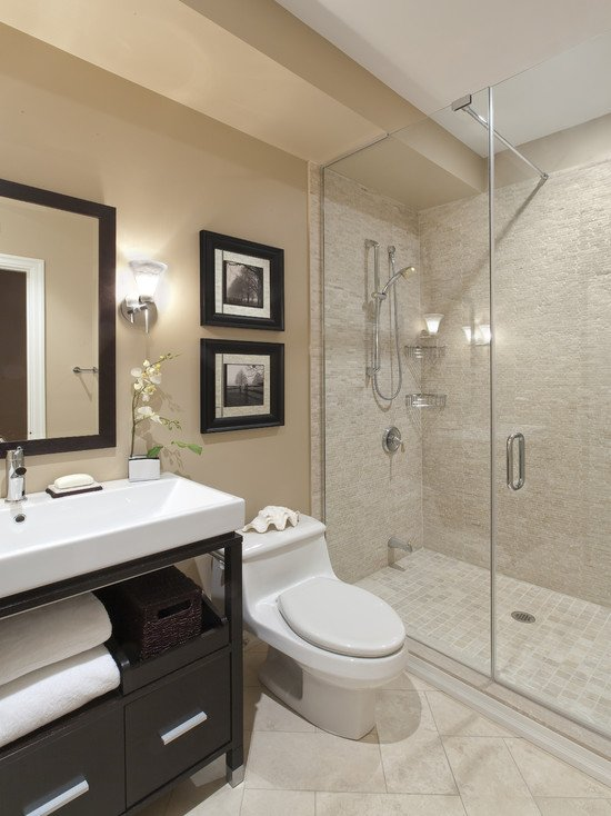 Elegant bathroom with a stylish colors 2014 - decor2all