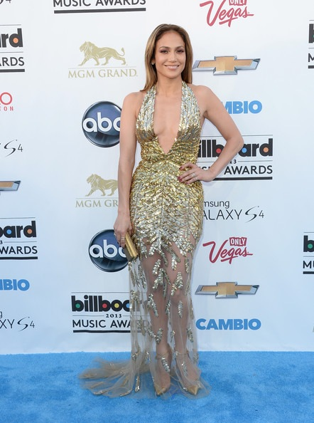 Jennifer Lopez arrives at the 2013 Billboard Music Awards