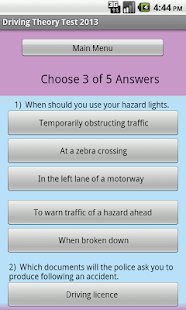 THEORY TEST  FREE - screenshot