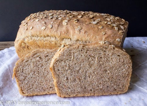 Granary-Style (ish) Bread with Sprouted Red Fife Flour