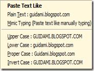 Incollare testo con la formattazione preferita: maiuscolo, minuscolo, senza doppi spazi