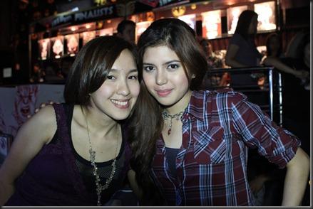 Barbie Almalbis & Isabela Deleon