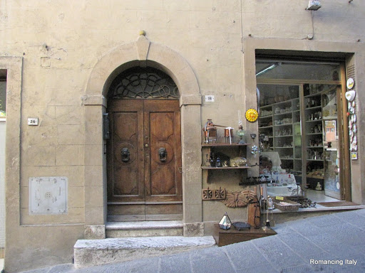 Montepulciano doorway