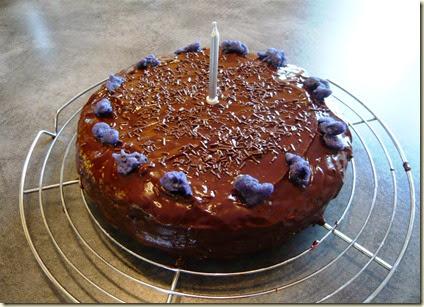 chocolate rum cake4