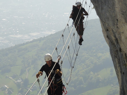 Via ferrata of Jules Carret, Bauges Range