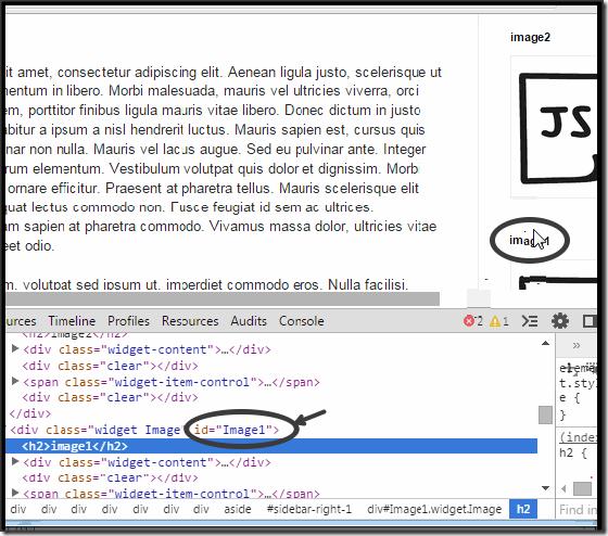 find-blogger-sidebar-widget-id