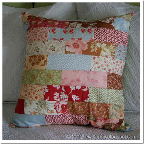 Butterscotch and Roses Pillow
