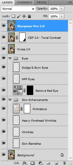 Photoshop CS5 Layers