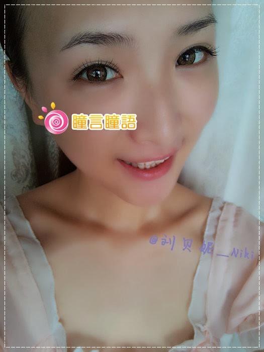 韓國GEO隱形眼鏡-GEO Sparkling 火花四色咖6