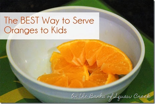 oranges for kids