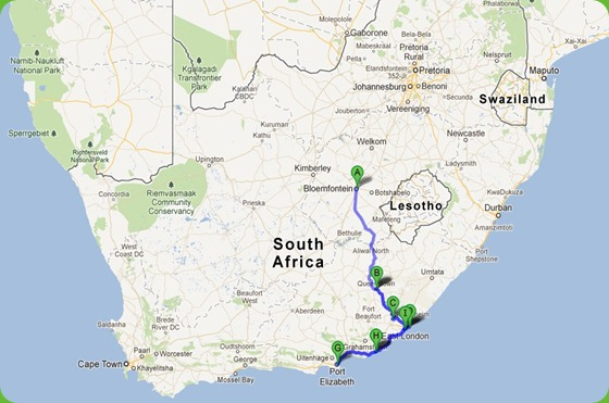 Eastern Cape Trip - July
