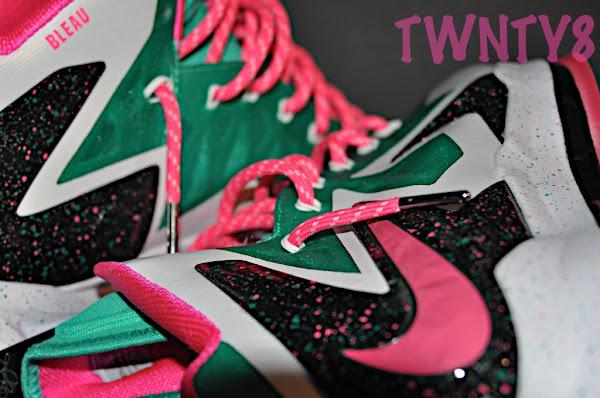 Nike LeBron X iD 8220Fontaine Bleau8221 Build by TWNTY8