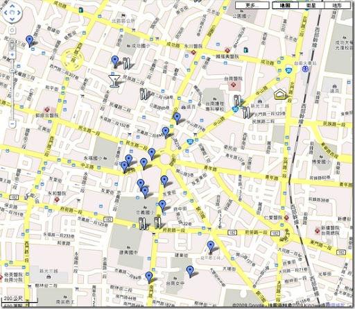 台南古蹟導覽地圖