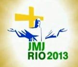 O próximo JMJ (jornada mundial da juventude) será no Brasil em 2013 - Rio-2013