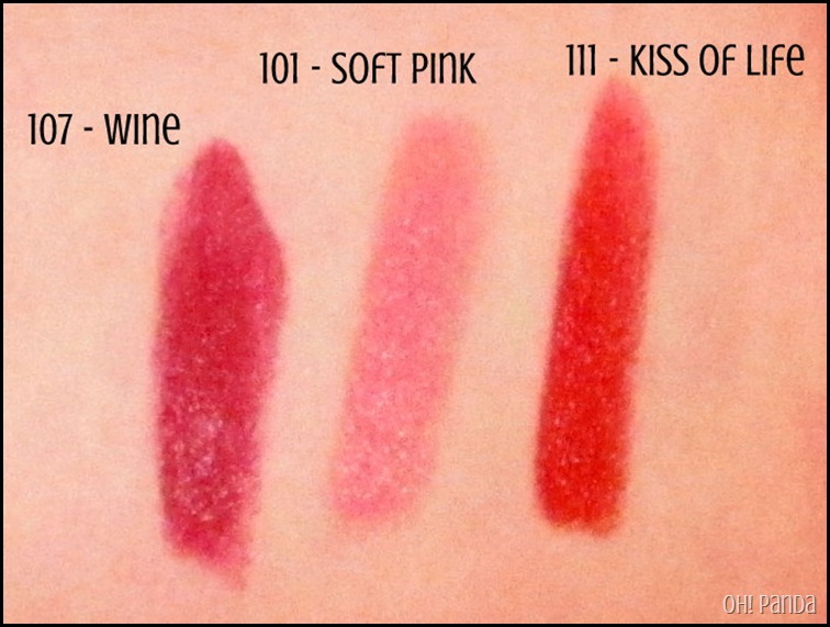 Rimmel Lasting Finish Matte Lipsticks 01