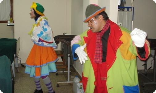 Innovadora iniciativa cultural con teatro clown para pacientes del hospital de Mar de Ajó