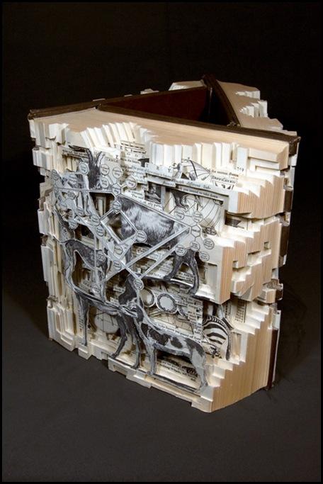 Brian Dettmer sculpteur de livres (13)