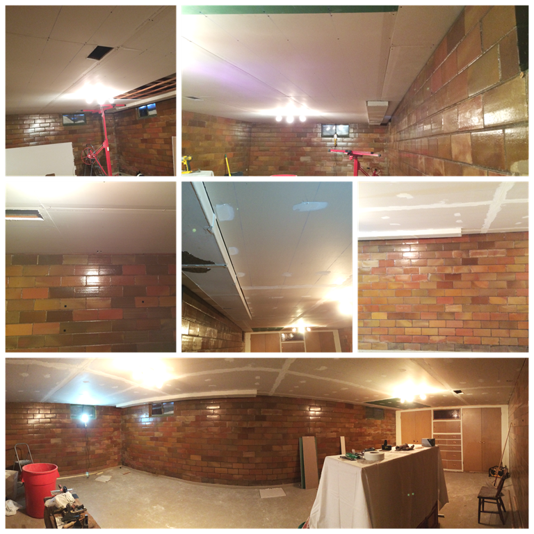 Basement 3 Collage