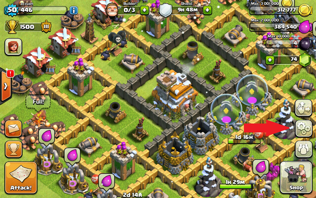 1 import clash of clans to iphone, ipad or android
