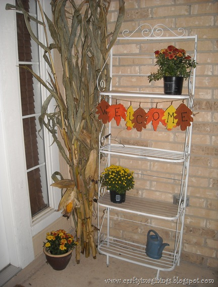 Welcome Fall Porch