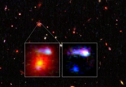aglomerado de galáxias IRC 0128