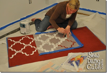Me-painting-rug