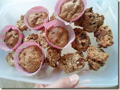 close up koekjes en muffins
