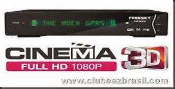 FREESKY THE ROCK HD GPRS NOVA ATUALIZAÇÃO - V 1.16.101