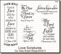 Love Scriptures