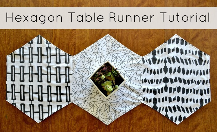 Hexagon Table Runner