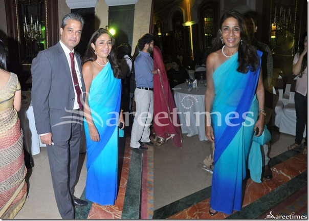 Blue_Designer_Georgette_Saree