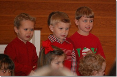 Wesley 3yr old Christmas Program 2011