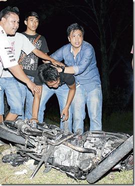 Kemalangan Federal Highway ~ Ayah Dan Adik Tahu Menerusi Facebook-3