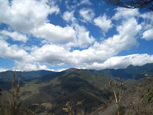 The mountains of Southern Ecuador seen during a hike around Vilcabamba